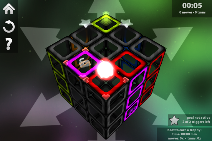 Cube Game App is a 3d Cube Puzzle Game